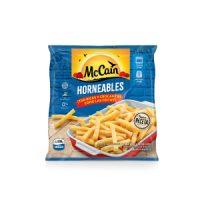 ¿Qué vas a necesitar? 600g McCain Horneables 30 ml de aceite de oliva 3 dientes de ajo picados Romero al gusto Sal al gusto